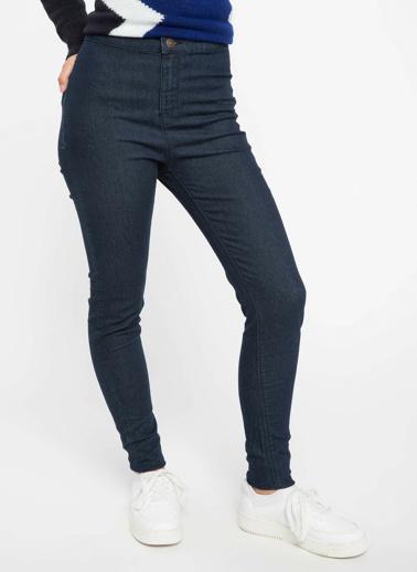 DeFacto Anna Yüksek Bel Super Skinny Fit Denim Pantolon Mavi